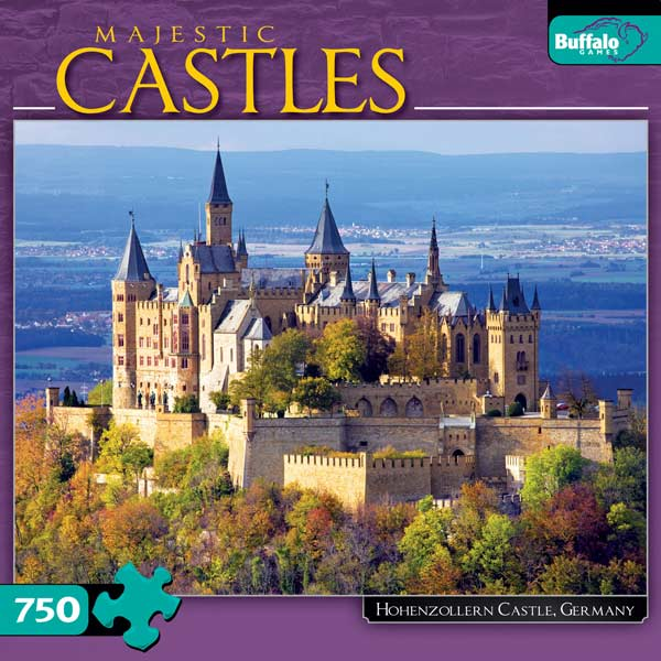 Hohenzollern Castle, Germany Castles Jigsaw Puzzle
