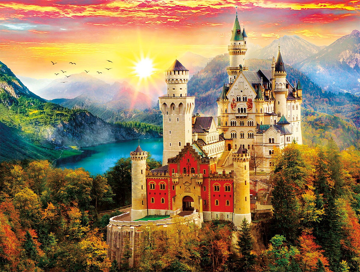 Castle Dream - Scratch and Dent Castles Jigsaw Puzzle