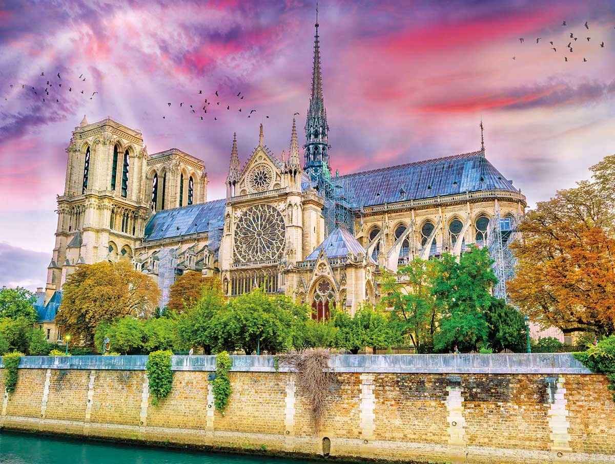 Cathedrale Notre-Dame France Jigsaw Puzzle