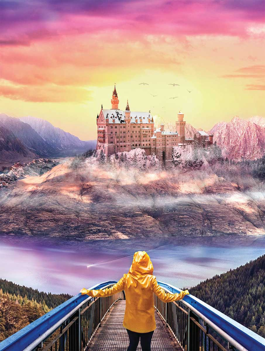 Discover Fantasy Castles Jigsaw Puzzle
