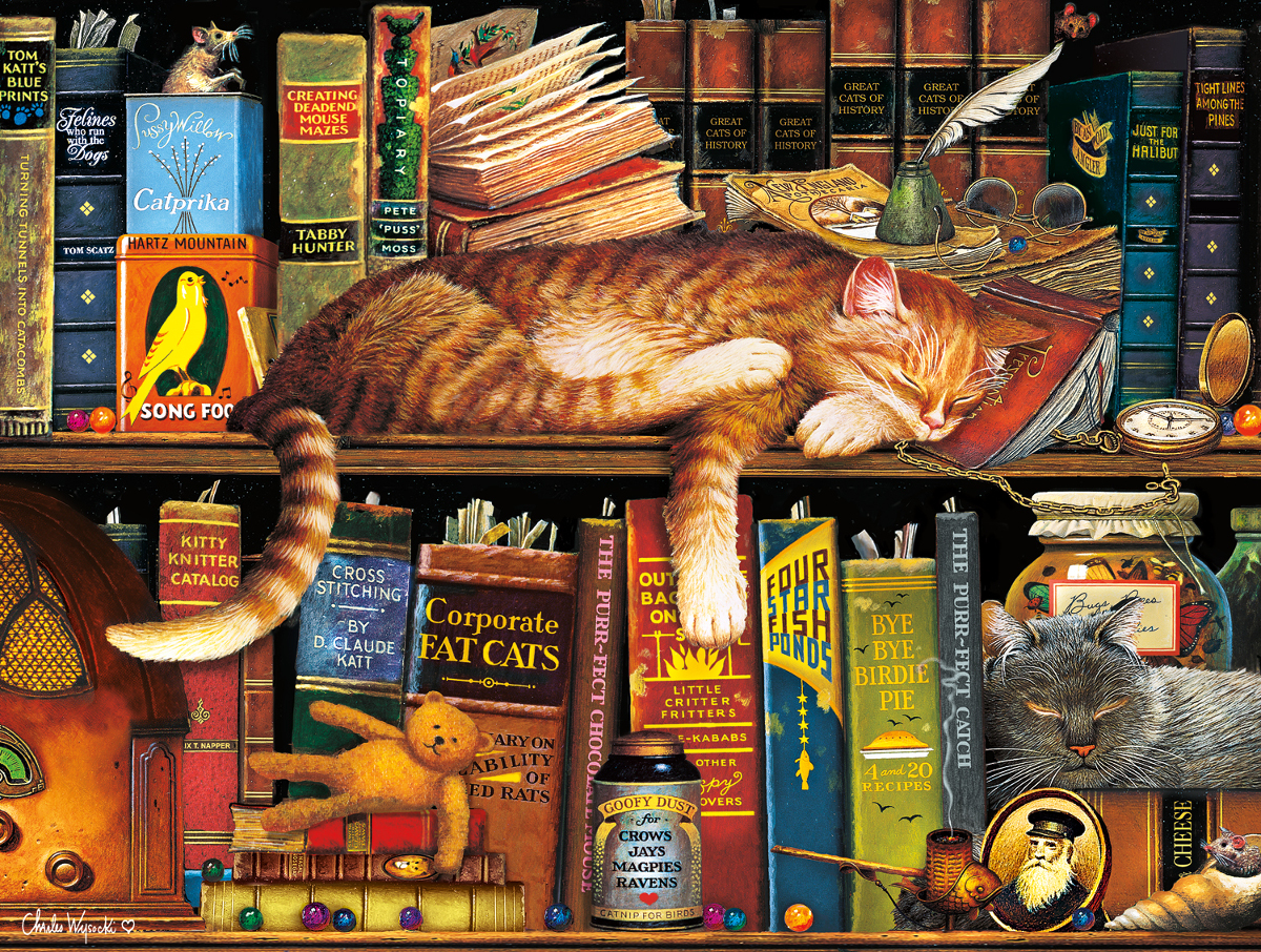 Cat Tales Cats Jigsaw Puzzle