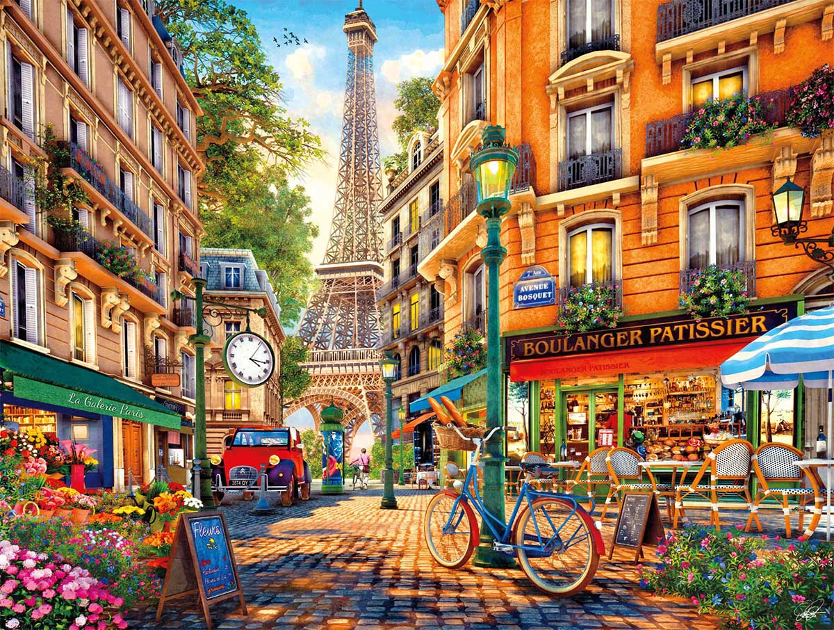 Paris Afternoon France Jigsaw Puzzle