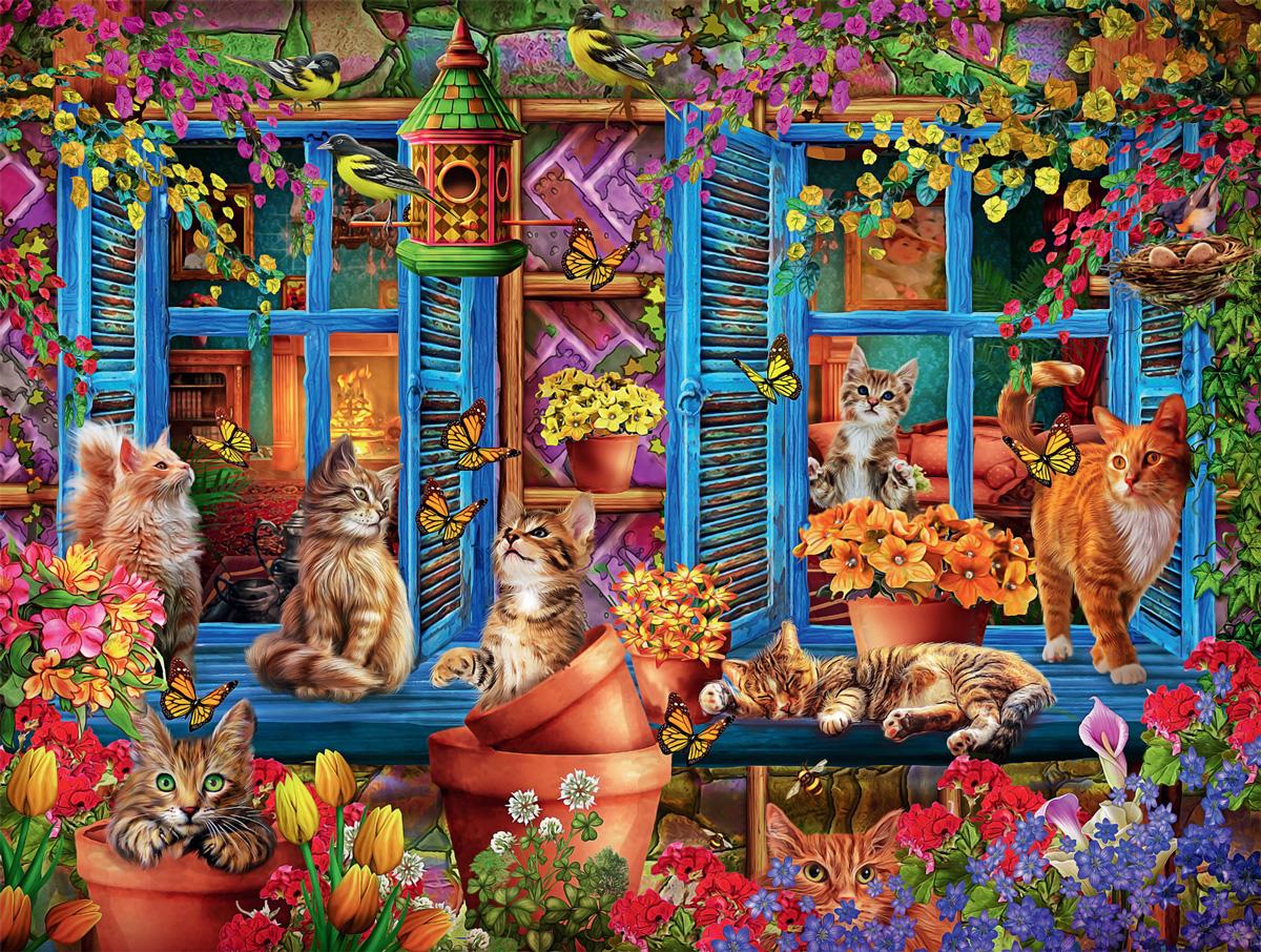 Cats Fantasy Cats Jigsaw Puzzle