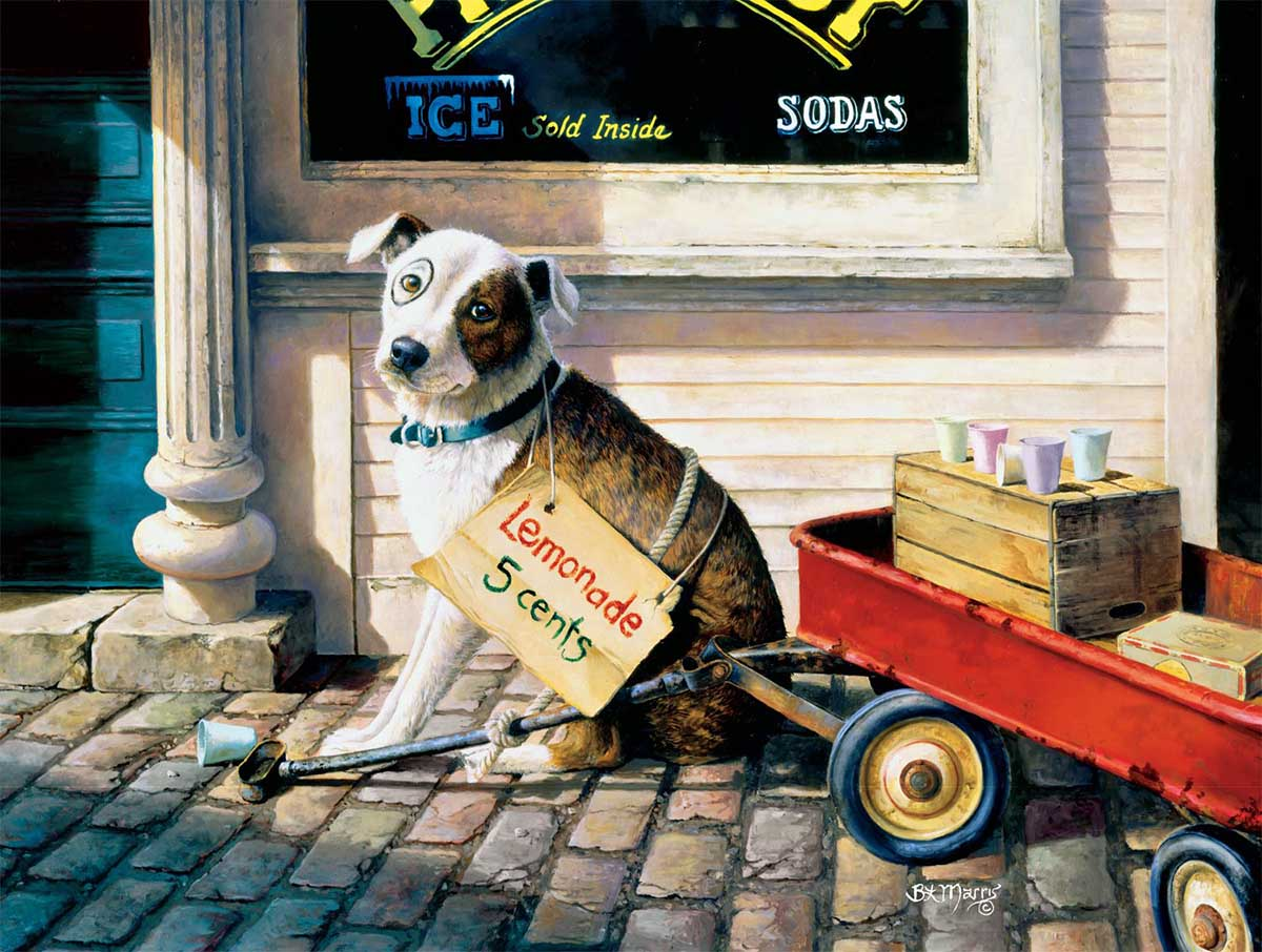 For the Love of Pete Dogs Jigsaw Puzzle