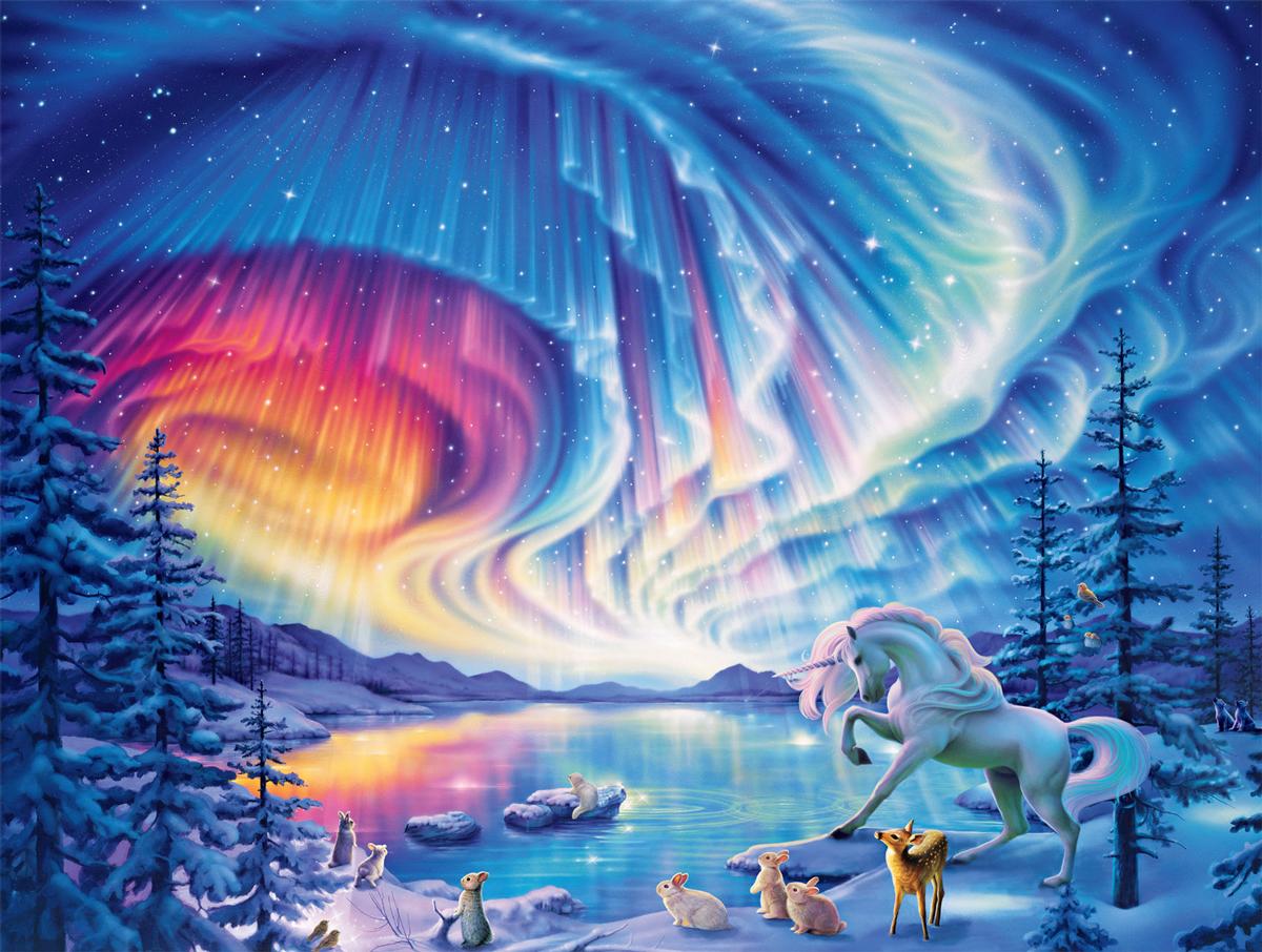 Fantastic Skies Fantasy Jigsaw Puzzle