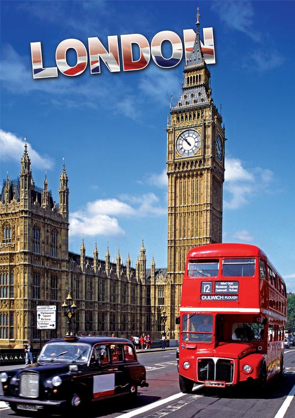 London (Travel Series) Cities Jigsaw Puzzle