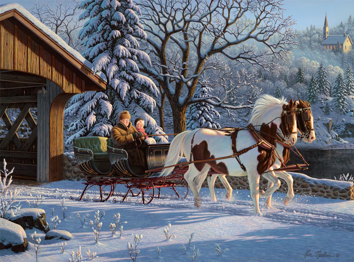 Treasured Memories Winter Jigsaw Puzzle