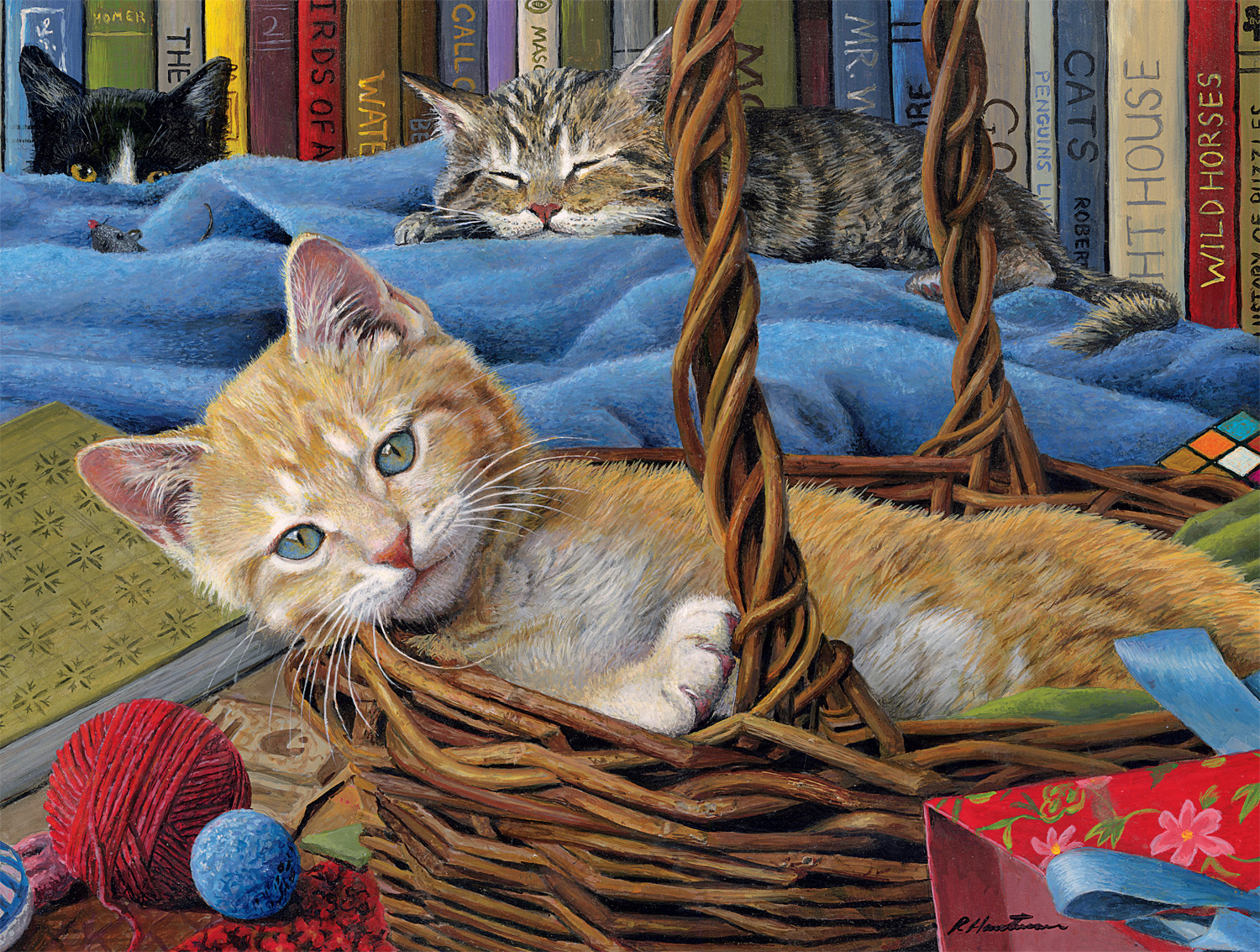 Billy The Kit Cats Jigsaw Puzzle