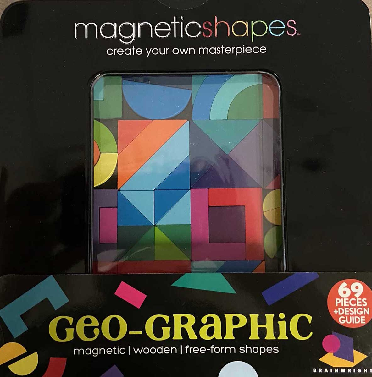 Geo-Graphic (Magna Shapes) Abstract Magnetic Puzzle