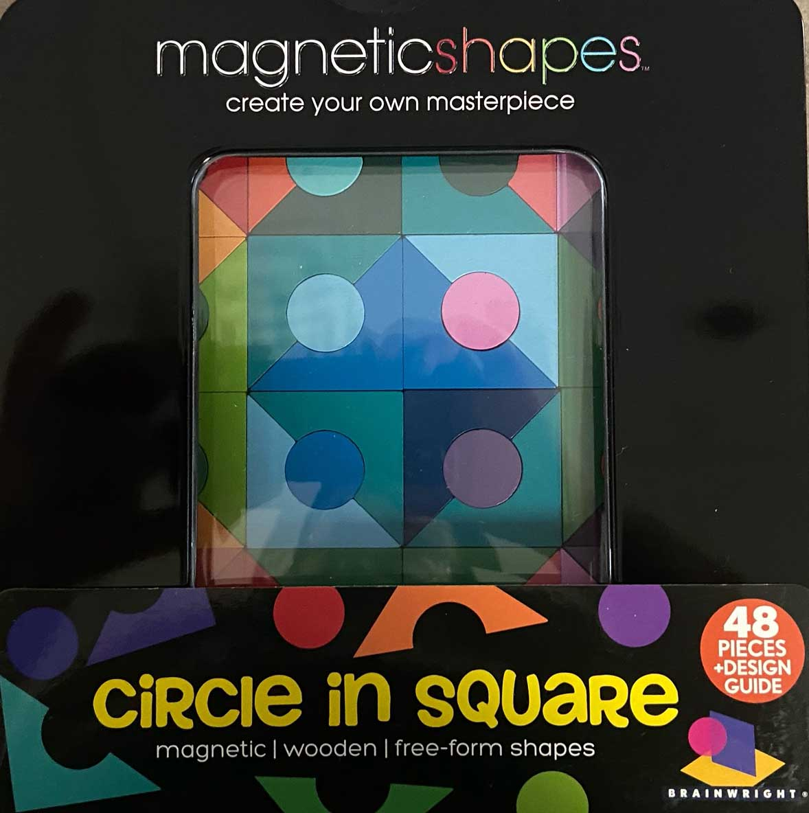 Circle in Square (Magna Shapes) Abstract Magnetic Puzzle