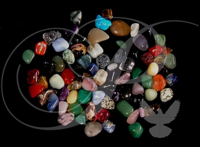 Crystals and Gemstones Photography Wooden Jigsaw Puzzle
