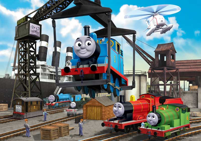 At the Docks Thomas and Friends Jigsaw Puzzle