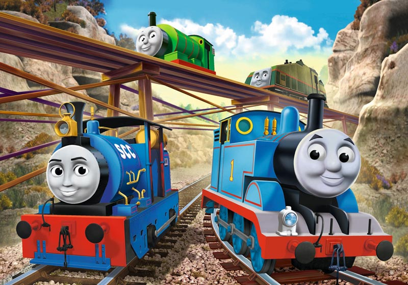 Tale of the Brave Thomas and Friends Jigsaw Puzzle