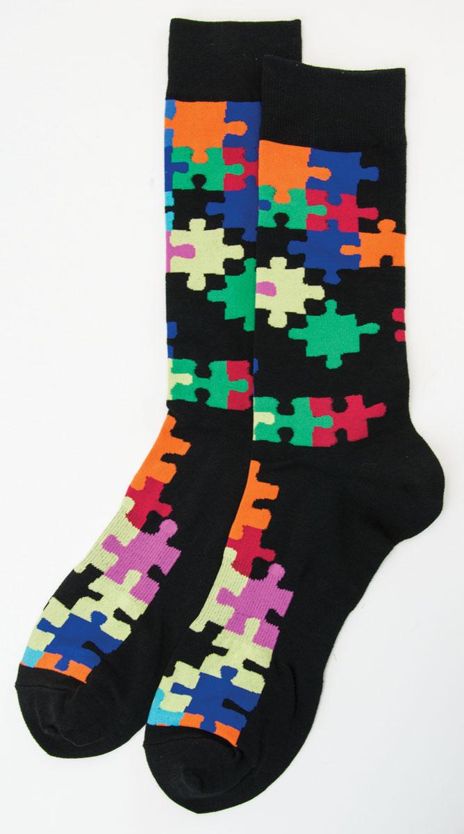 Men's Puzzle Socks