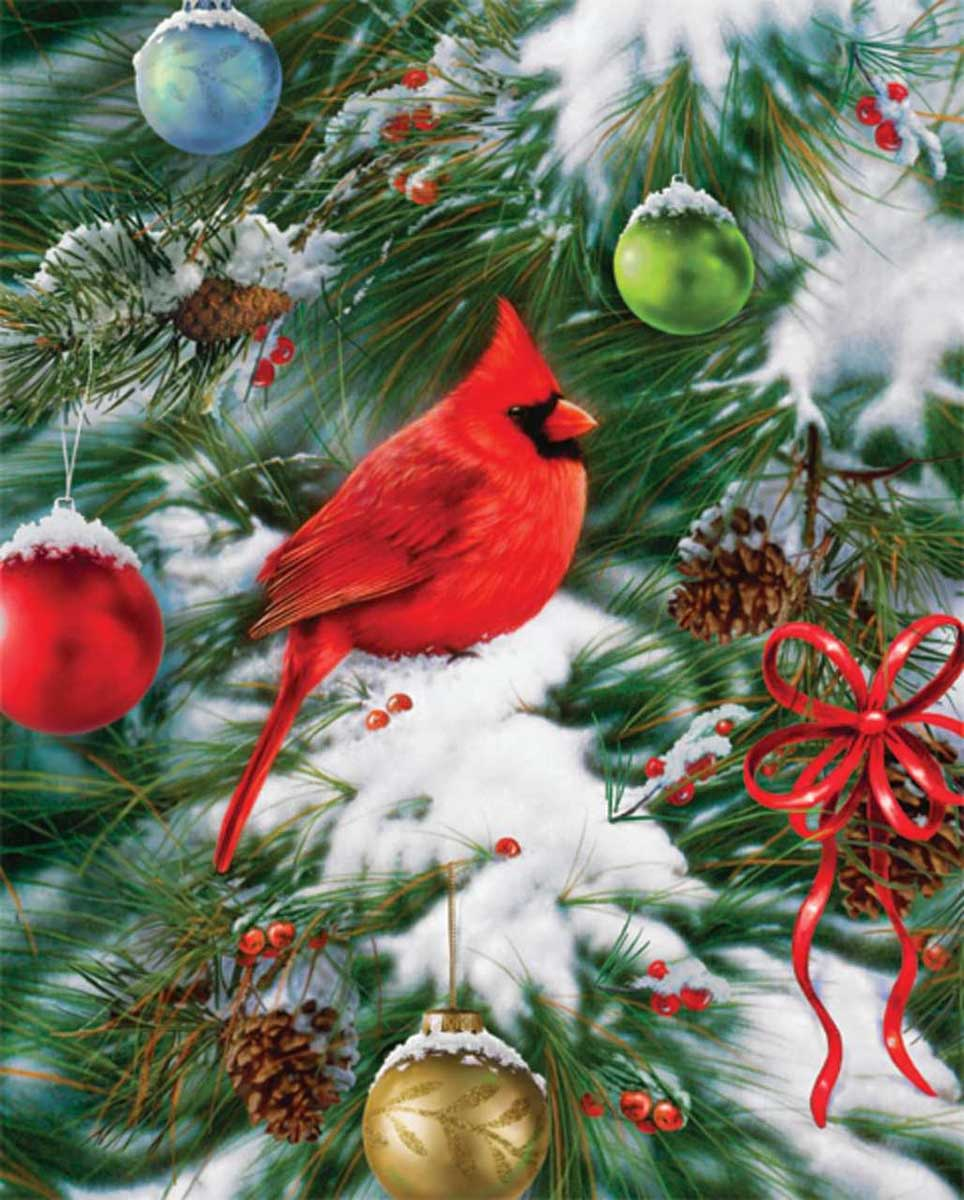 Nature's Ornament Birds Jigsaw Puzzle