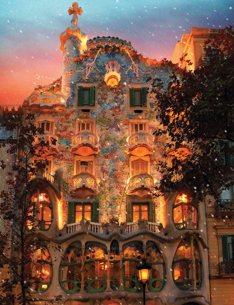 Batlló House Travel Jigsaw Puzzle