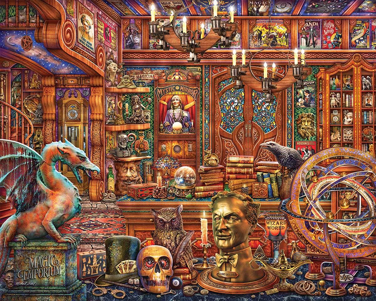 Magic Emporium Fantasy Jigsaw Puzzle