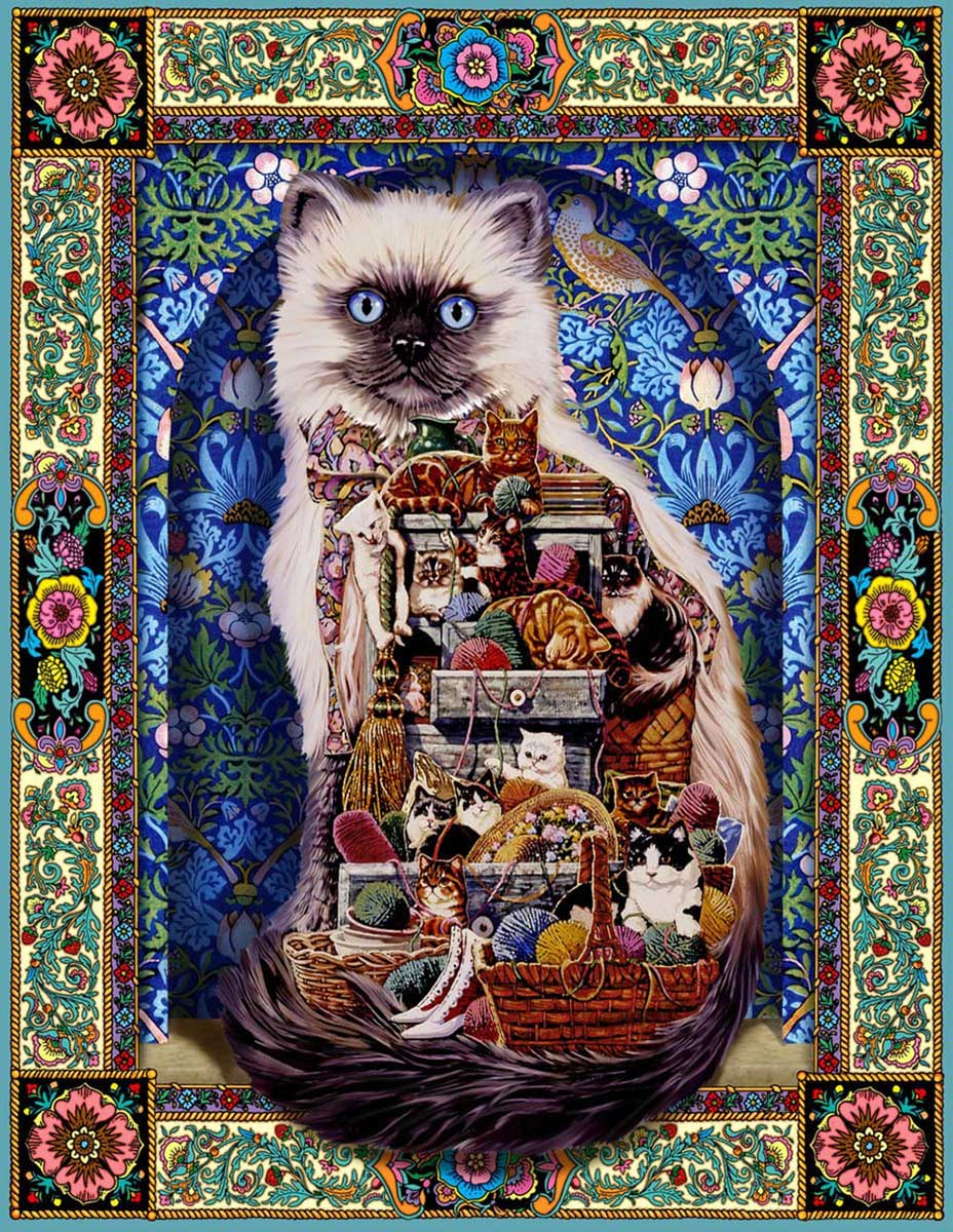 Cats Galore Cats Jigsaw Puzzle