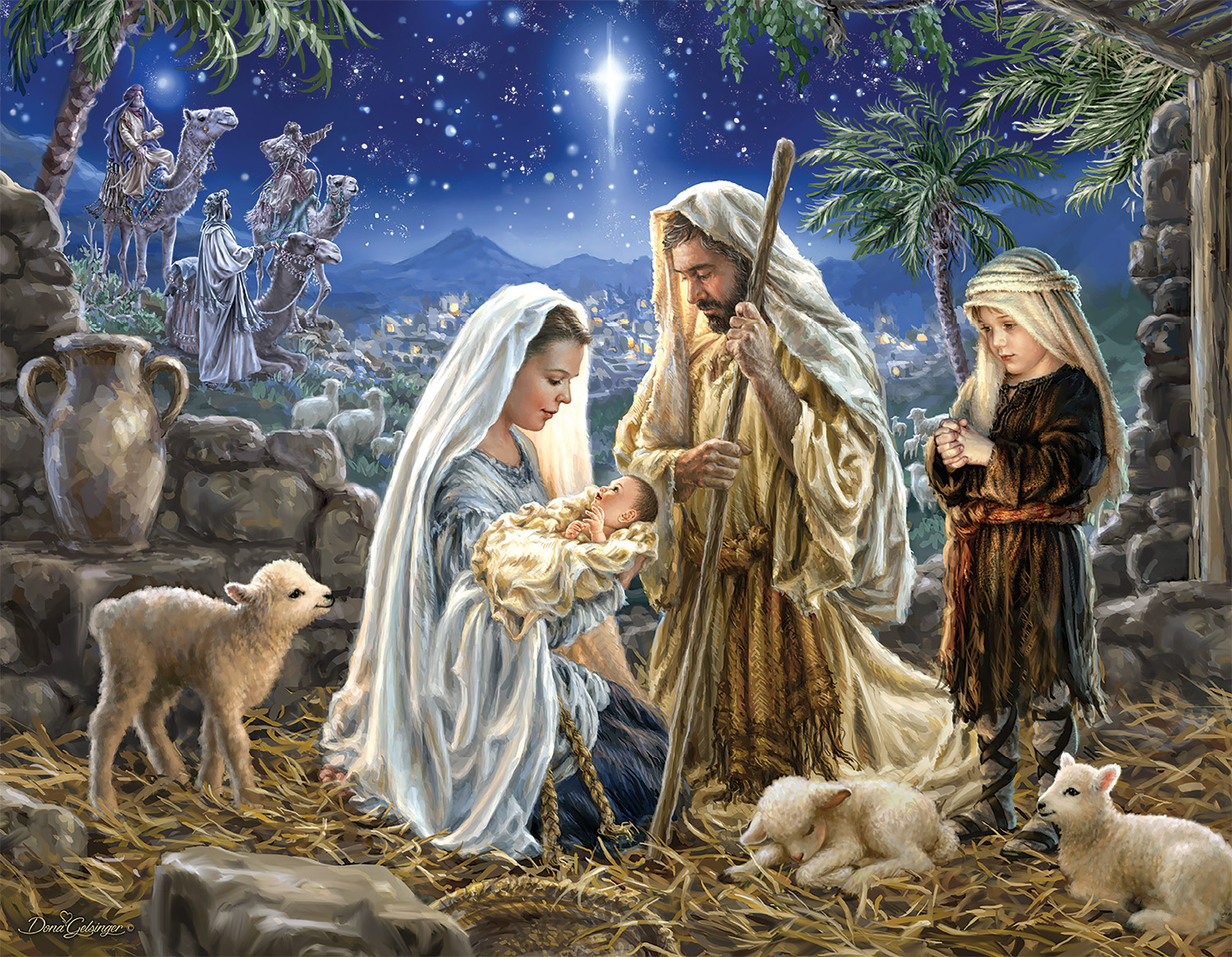 Let Us Adore Him! Religious Jigsaw Puzzle