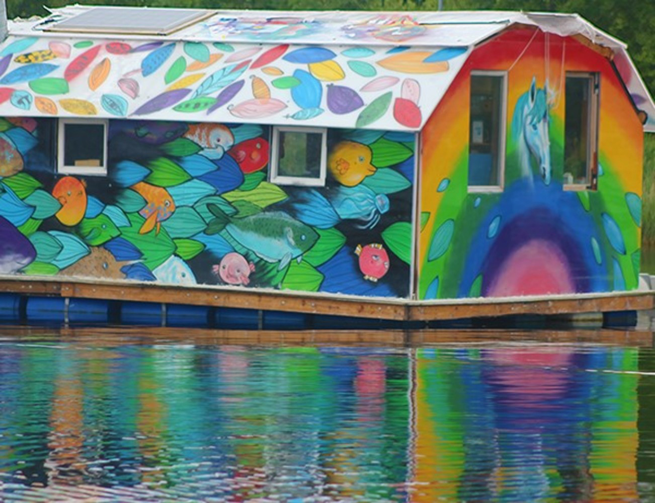 The Boat House Boats Jigsaw Puzzle