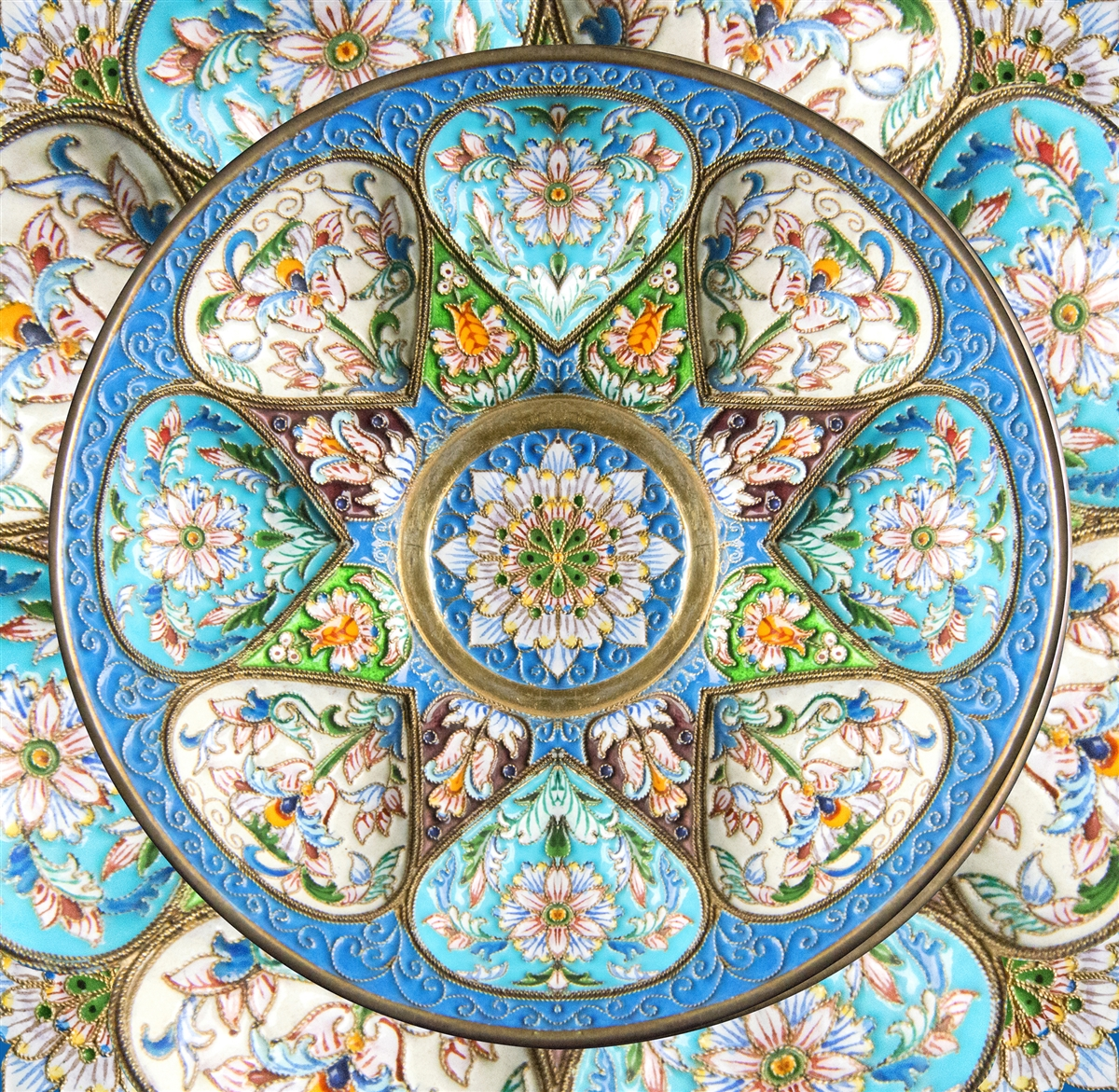 Timeless Turquoise Crafts & Textile Arts Jigsaw Puzzle