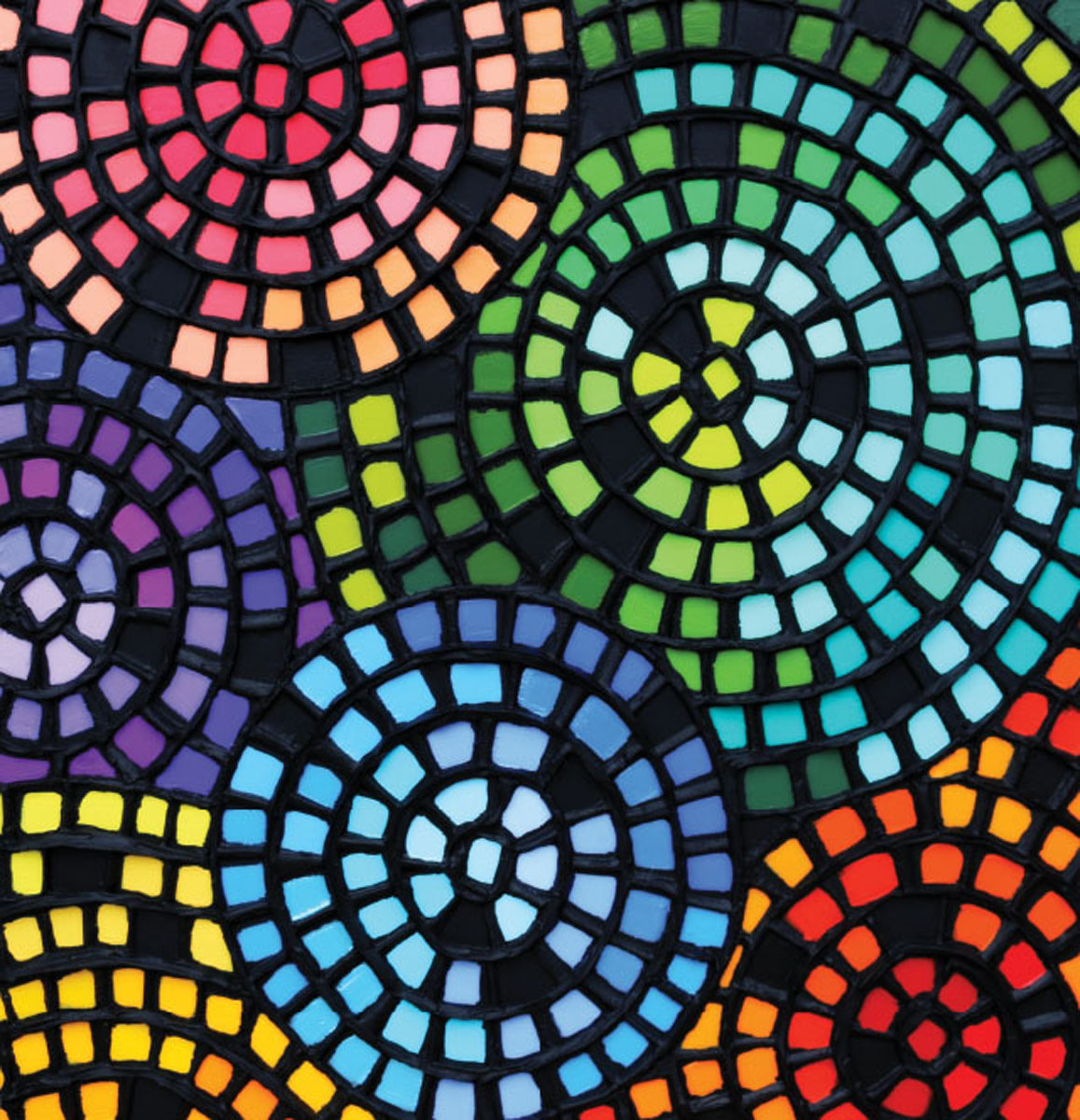 Strolling Ephesus Contemporary & Modern Art Jigsaw Puzzle