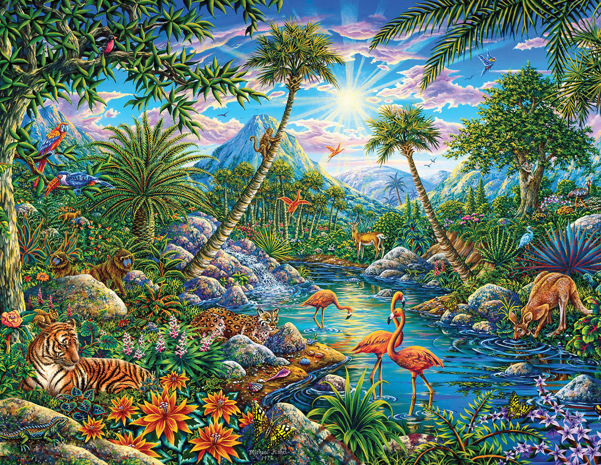 Discovery Island Travel Jigsaw Puzzle
