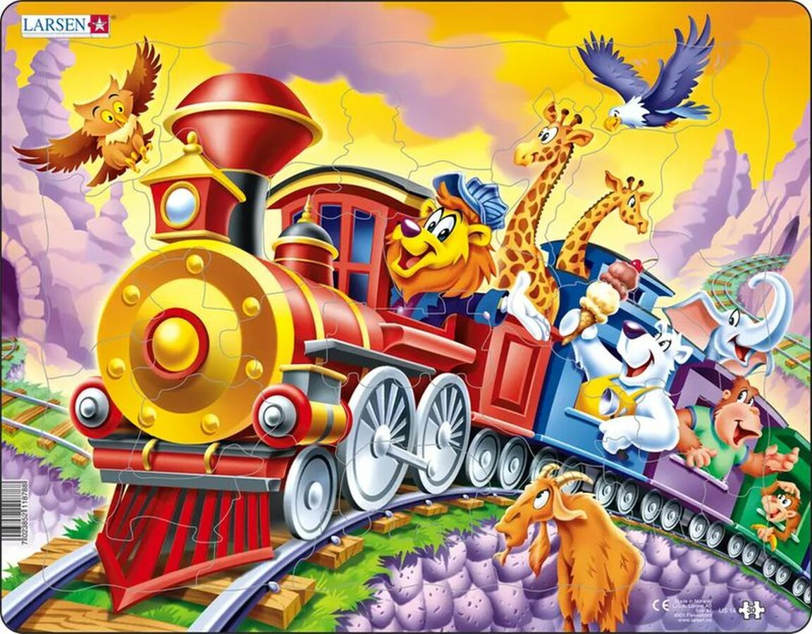 Circus Train Trains Tray Puzzle