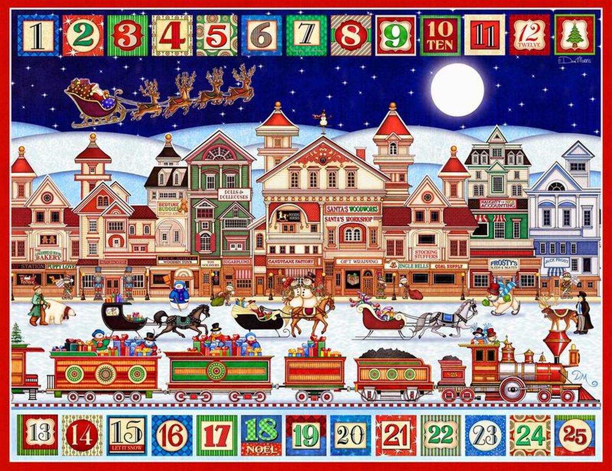 And To All A Good Night Santa Jigsaw Puzzle