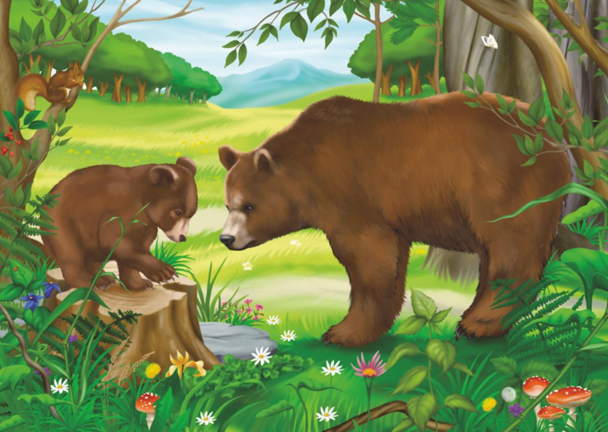 Bears Bears Jigsaw Puzzle
