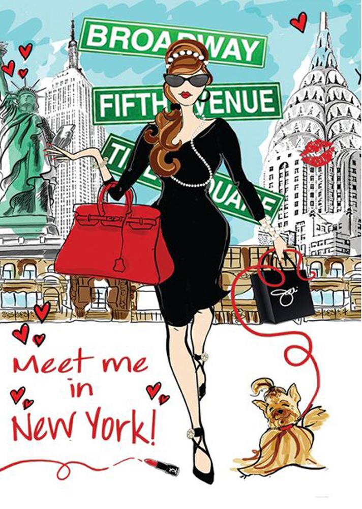 Shopping New York Jigsaw Puzzle