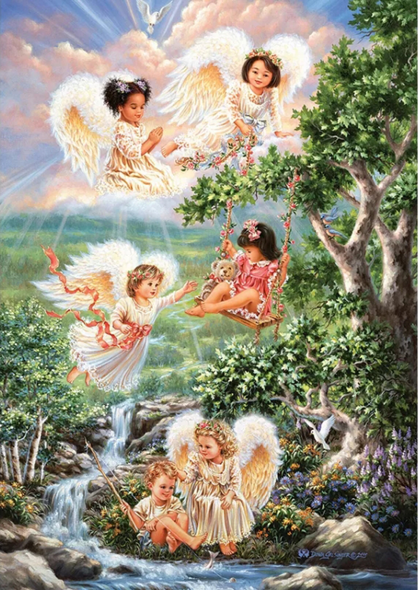Angels Of Hope Religious Jigsaw Puzzle