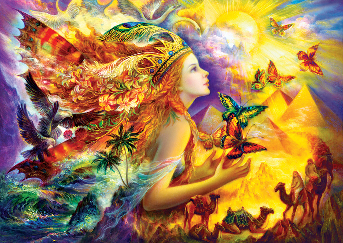 Butterfly's Dream Fantasy Jigsaw Puzzle