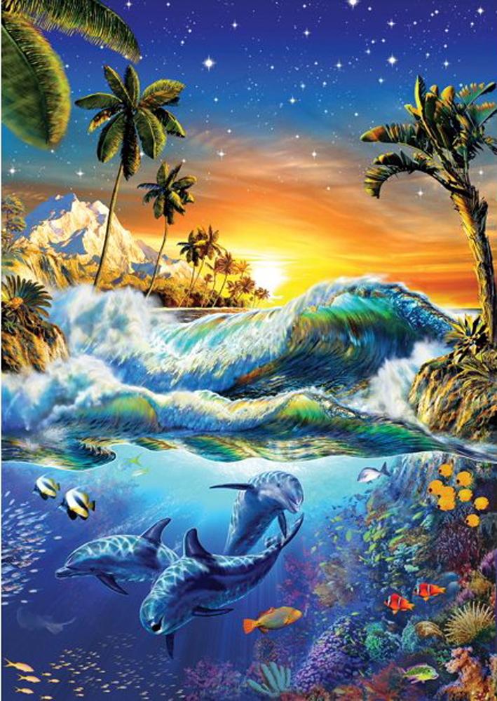 Hawaiian Dawn Under The Sea Jigsaw Puzzle