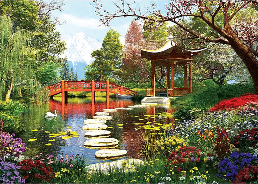 Spring Season Garden Jigsaw Puzzle