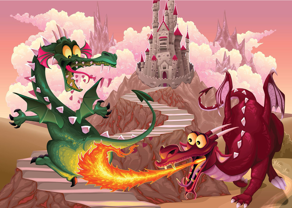 The Dragons Castles Jigsaw Puzzle