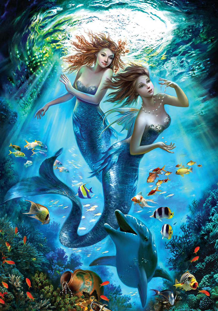 The Mermaids Under The Sea Jigsaw Puzzle