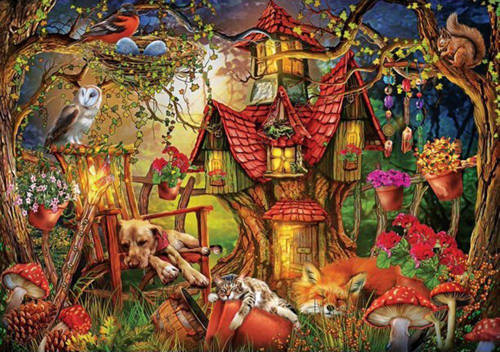 Sleepy Time Animals Jigsaw Puzzle