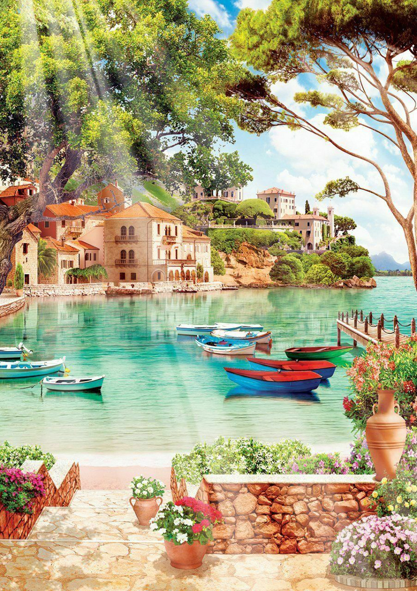Good Morning To The Peace Landscape Jigsaw Puzzle