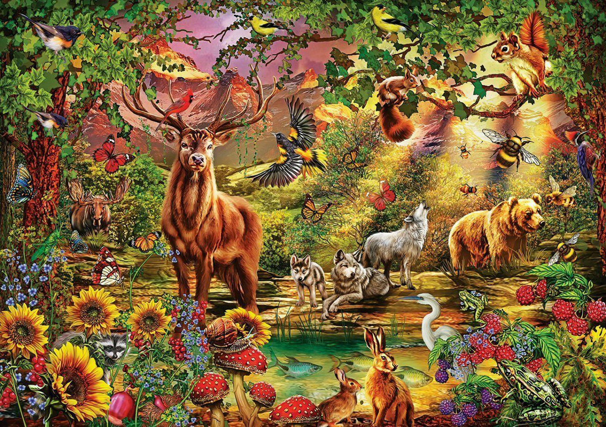 Magic Forest Jigsaw Puzzle