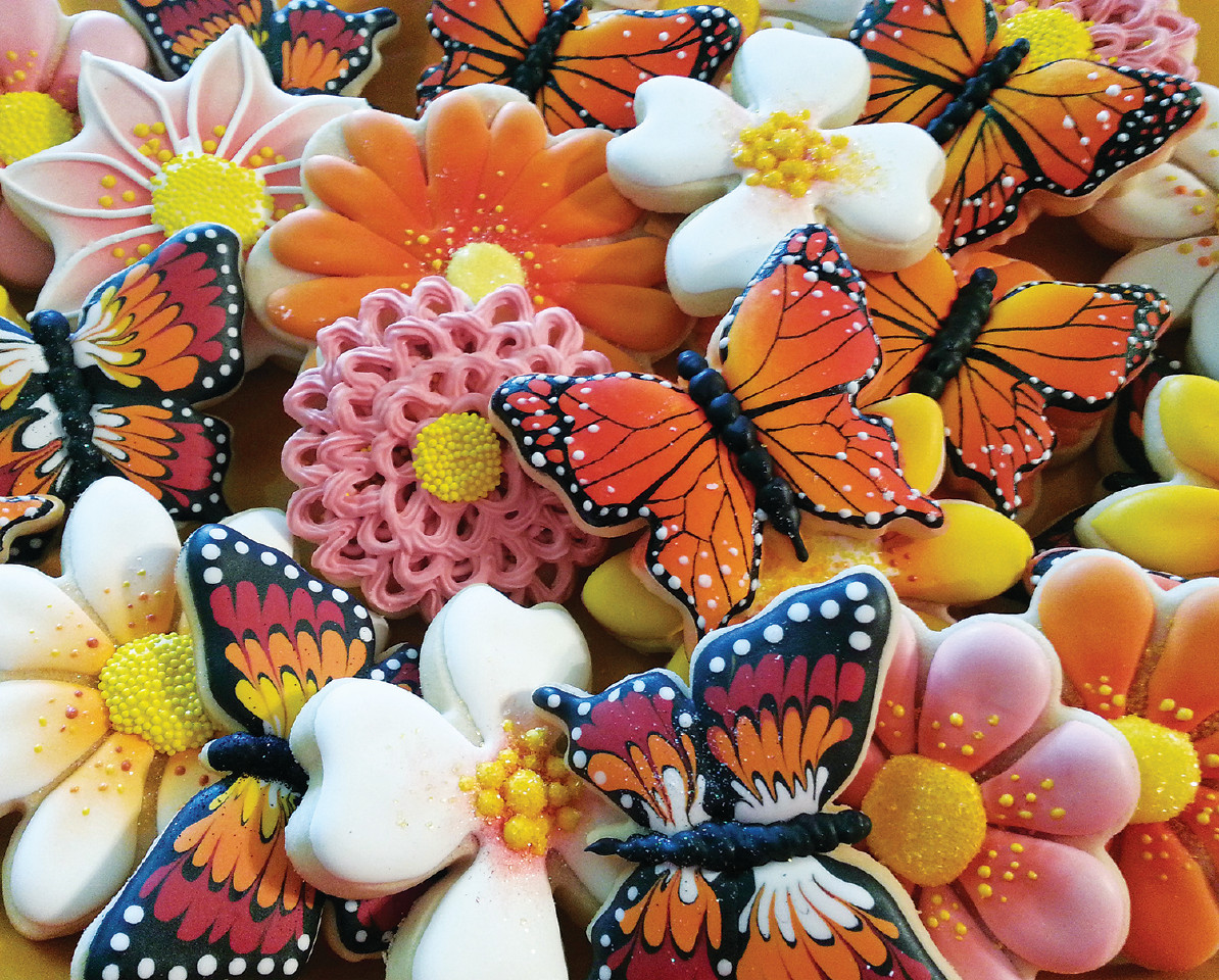Butterfly Cookies Jigsaw Puzzle | PuzzleWarehouse.com
