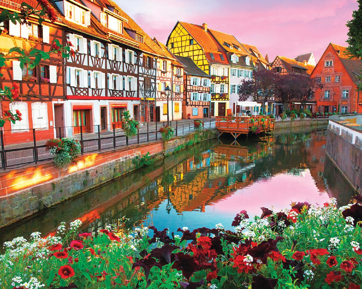 Colmar,  France Landscape Jigsaw Puzzle
