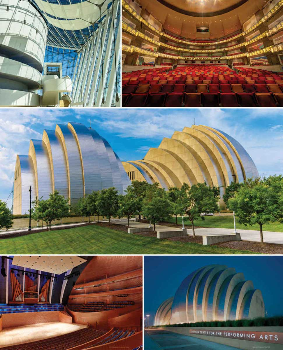 Kauffman Center Travel Jigsaw Puzzle