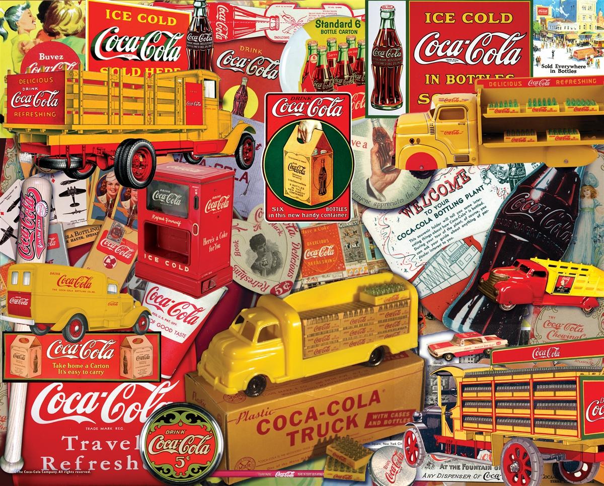 Delivering a Classic (Coca Cola) Nostalgic / Retro Jigsaw Puzzle