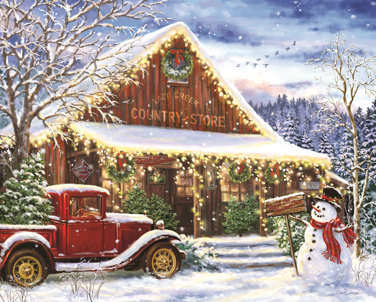 Lazy Creek Country Store General Store Jigsaw Puzzle