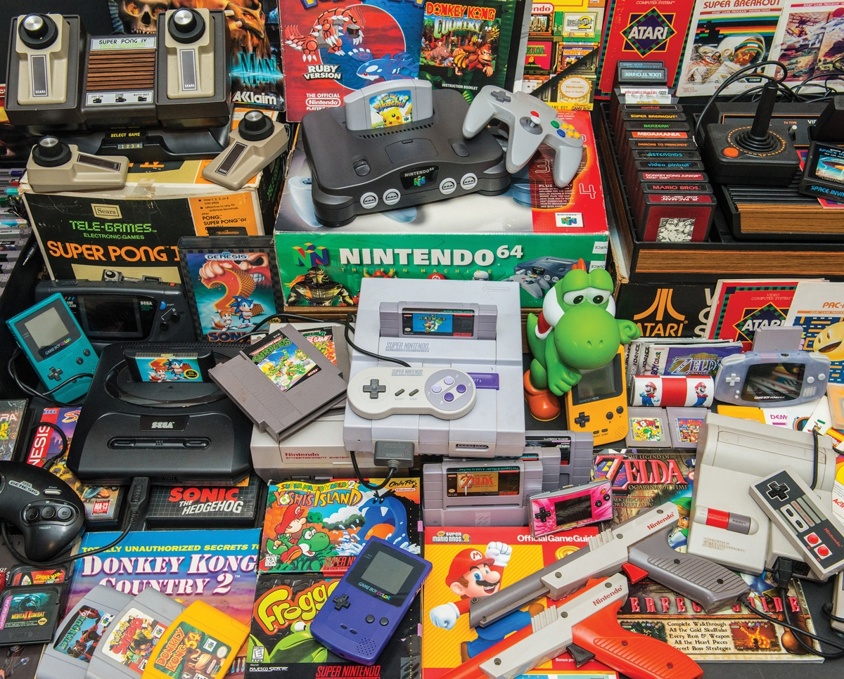 Gamer's Trove Nostalgic / Retro Jigsaw Puzzle