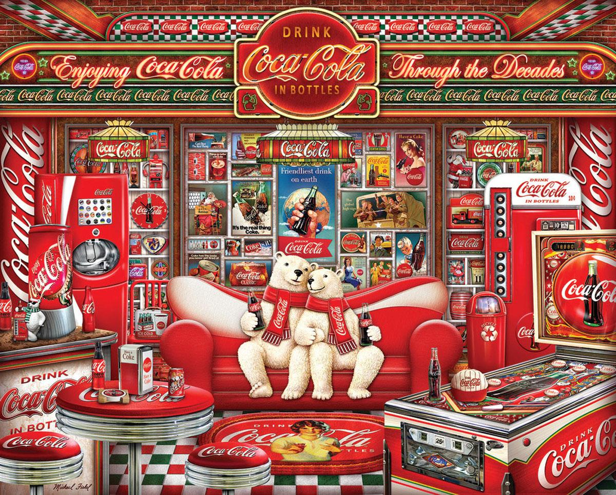 """Coca-Cola """"Decades"""" Coca Cola Jigsaw Puzzle"""