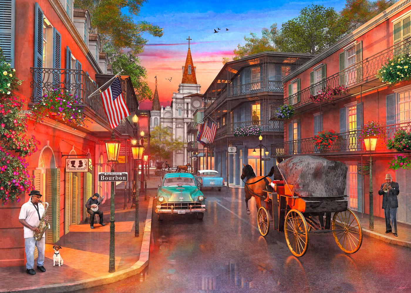 Bourbon Street Travel Jigsaw Puzzle