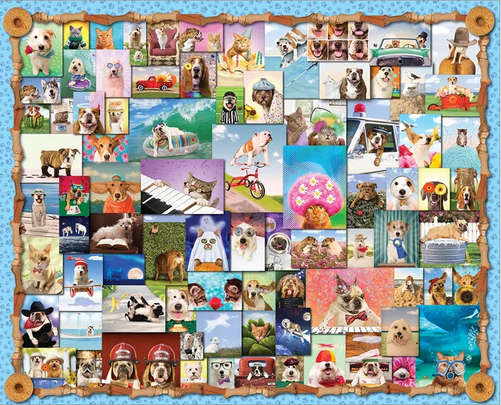 Animal Quackers Animals Jigsaw Puzzle