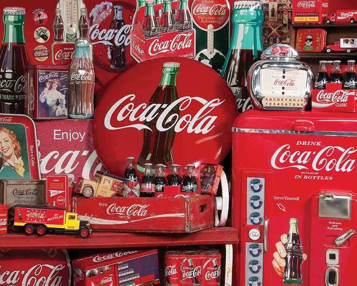 Coca-Cola Memories Food and Drink Jigsaw Puzzle